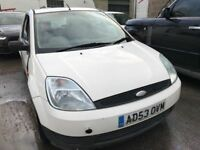 2003 Ford Fiesta van diesel, starts and drives, MOT until 13th July, trade sell, the van is what it