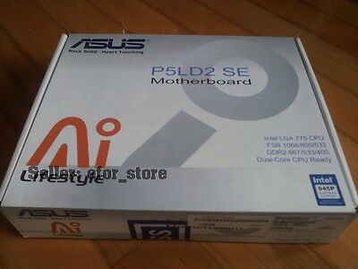 Asus P5LD2 SE Rev 1.0 Socket 775 MotherBoard BRAND NEW Asus P5ld2 Se Motherboard