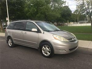 2006 TOYOTA  SIENNA , 4X4 , AUTOMATIQUE , 7 PASSAGERS , DVD/TELE
