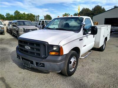 2006 Ford F-350 SUPER DUTY FORD F350 SERVICE TRUCK DIESEL 6.0 WITH UTILITY BED