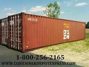 20Ft & 40Ft Steel Shipping Containers / Storage Containers