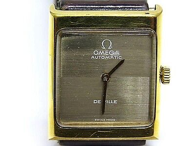 OMEGA De Ville Gold Year 1995 Plated Top & Steel Case Automatic Movement Watch segunda mano  Embacar hacia Spain