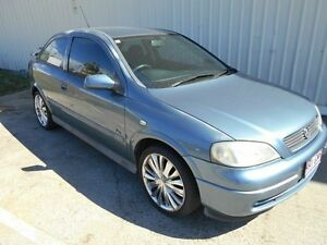 2001 Holden Astra TS MY2002 City Blue 5 Speed Manual Hatchback Kippa-ring Redcliffe Area Preview