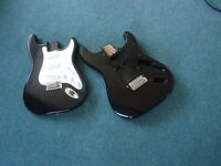2 x Stratocaster bodies project guitar parts Fender