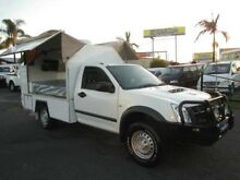 2011 Isuzu D-MAX MY11 SX White 5 Speed Manual Cab Chassis Archerfield Brisbane South West Preview