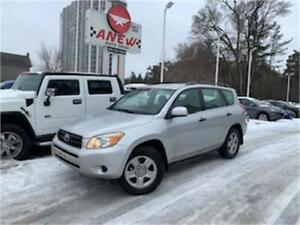2008 Toyota RAV4 4x4 CLEAN CARFAX NO ACCIDENTS