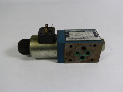 Bosch 0-811-024-120 Hydraulic Check Valve 24v 1.4a 5500psi Used