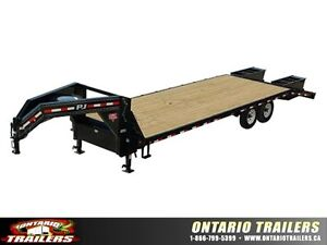 PJ Classic Flatbed (FS) 20' to 44' lengths