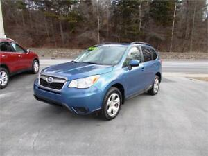 2015 SUBARU FORESTER AWD...LOADED!! ONLY $69 WEEKLY! APPLY NOW!