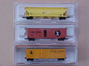 N scale Atlas, Athearn + other train model railroad freight cars Kingston Kingston Area image 2