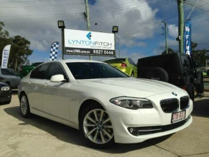 2010 BMW 520D F10 Steptronic White 8 SPEED Semi Auto Sedan Southport Gold Coast City Preview