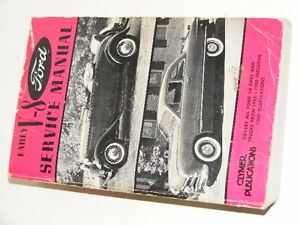 EARLY  V8 FORD SERVICE MANUAL   Clymer 896 Pgs.