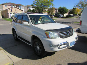 2006 Lexus GX Ultra Premium Package With DVD, Bluetooth and GPS