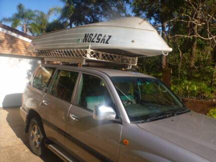 ROOF RACK AND TINNIE FOR 100 SERIES LANDCRUISER Sydney Region Preview