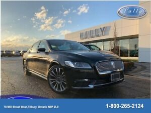 2017 Lincoln Continental Reserve, Moonroof, Navigation, Rmt Star