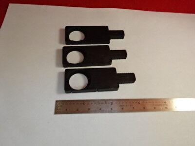 Lot Empty Plastic Slide Nikon Japan Microscope Part Optics As Is 4b-a-20