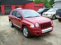 2009 Jeep Compass Limited/4x4/LEATHER/SUNROOF/LOW PAYMENT