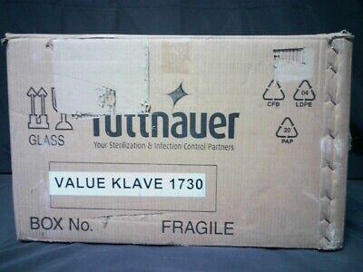 Tuttnauer 1730 Valueklave Manual Autoclave White New