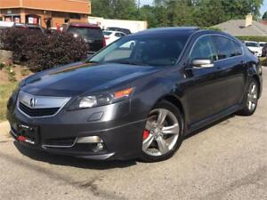 2012 Acura TL SH-AWD-TECH-NAVI-CAM-LOADED-ONLY 111000KMS