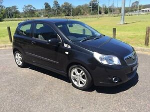 2009 Holden Barina TK MY09 Black 5 Speed Manual Hatchback West Gosford Gosford Area Preview