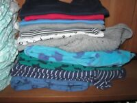Baby boy clothes and nappies 6-9 months