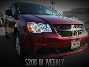 2017 Dodge Grand Caravan SXT Plus (Power Sliding Doors/DVD)