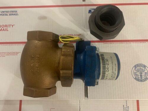 New JD Gould Q4-230 or Q4 230 Valve Solenoid 12VDC 2inc Gasoline Diesel Fuel