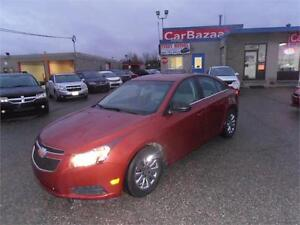 2012 Chevrolet Cruze LS+ w/1SB Easy Car Financing available
