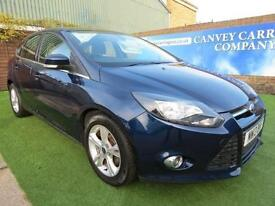 2013 Ford Focus 1.6 TDCi Zetec 5dr ONE OWNER WITH SERVICE HISTORY