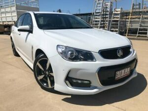 2017 Holden Commodore VF II MY17 SV6 White 6 Speed Sports Automatic Sedan Garbutt Townsville City Preview