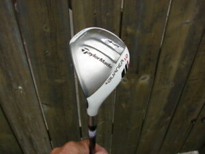 Left hand Taylormade Burner Hybrid rescue driver almost new