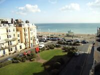 All bills + council tax included. Nicely furnished bedroom on the sea, short term until late October