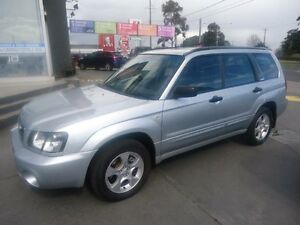 2003 Subaru Forester MY04 XS Luxury Silver 4 Speed Automatic Wagon Parkdale Kingston Area Preview