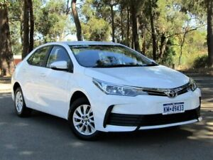 2018 Toyota Corolla ZRE172R Ascent S-CVT White 7 Speed Constant Variable Sedan Kalamunda Kalamunda Area Preview