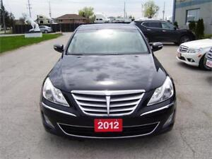 2012 Hyundai Genesis Sedan navigation backup camera loaded.