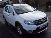 63 Dacia Stepway Laureate 1.5DCi-Fsh-Excellent condition-High Specification-Open to Offers