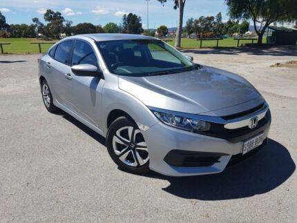2016 Honda Civic 10th Gen MY16 VTi Silver 1 Speed Constant Variable Sedan Nailsworth Prospect Area Preview