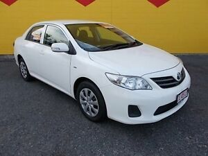 2012 Toyota Corolla ZRE152R MY11 Ascent White 4 Speed Automatic Sedan Winnellie Darwin City Preview
