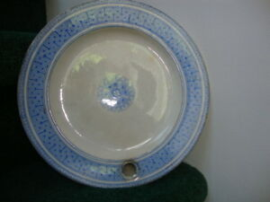 Antique 19th century hot water warming plate
