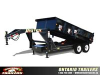 Big Tex 14GX Tandem Axle Low Profile Extra Wide Dump