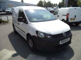 Volkswagen Caddy 1.6 75PS STARTLINE EURO 5 DIESEL MANUAL WHITE (2014)
