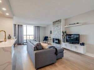 Beautiful Updated Condo  w/ Huge Balcony & Steps to Green Space