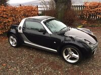 "Smart Roadster - Sports Pack - Leather Pack - FSH - 16"" Alloys - Electric Roof - Great Fun!"