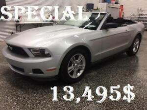 2011 Mustang Convertible  **  Rabais de 1500$ !!  **