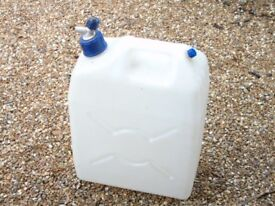 Camping Water storage container approx 20litre