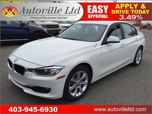 2014 BMW 320i xDrive PUSH START, AWD, BLUETOOH 90 DAYS NO PYMT