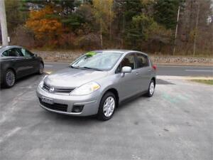 2011 NISSAN VERSA HATCHBACK! ONLY $79 BI-WEEKLY OAC! APPLY TODAY