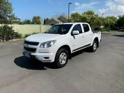 2013 Holden Colorado RG LX White 6 Speed Automatic Dual Cab Chermside Brisbane North East Preview