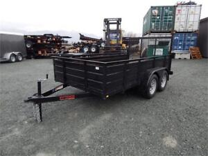 NEW TNT 6X12 TANDEM 7,000# LANDSCAPE TRAILER