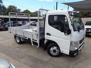 2012 Mitsubishi Fuso Canter DUONIC FE 84DE 3.5 4X2 White Cab Chassis 0.0l Sylvania Sutherland Area Preview
